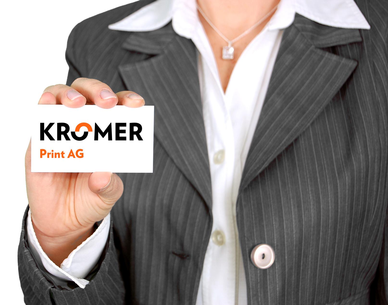 Geschäftsdrucksachen Kromer Print Ag